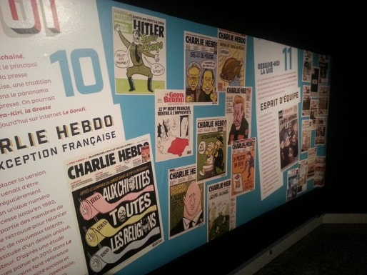 L'évolution de l'humour de Charlie Hebdo d'Hitler à Benzema. (Rue89 Bordeaux)
