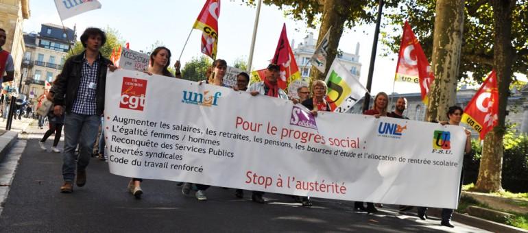 Ils veulent «tomber la chemise de leur patron» à Bordeaux