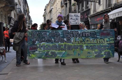 Partie de la Zad d'Agen, une quinzaine de personnes va rejoindre la Cop 21 à Paris (Xavier Ridon/Rue89 Bordeaux)