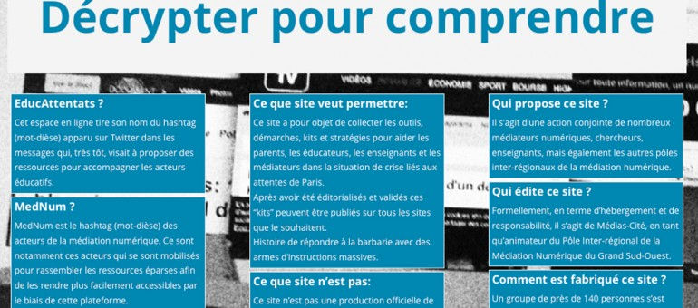 Le blog EducAttentats, « arme d'instruction massive »