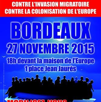 La manifestation «contre l'invasion migratoire» interdite à Bordeaux
