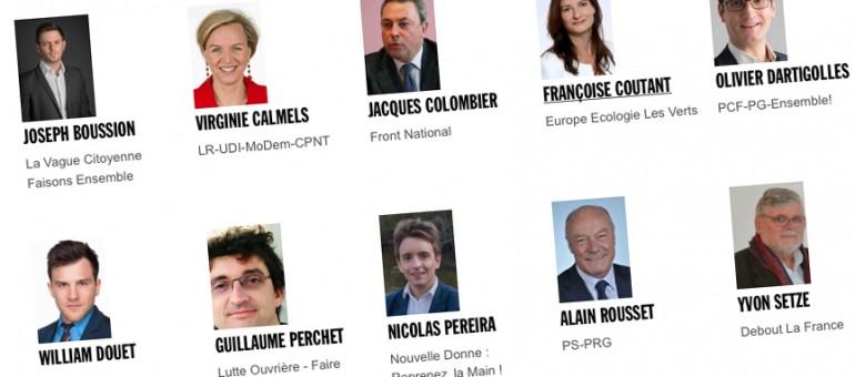 Régionales 2015 : Posez vos questions aux candidats