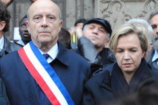 Alain Juppé et Virginie Calmels (WS/Rue89 Bordeaux)