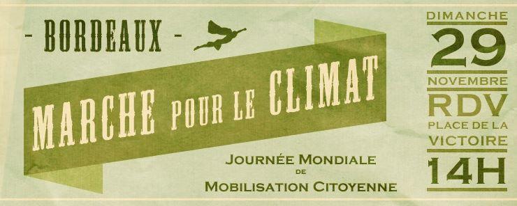 La marche pour le climat aussi interdite à Bordeaux