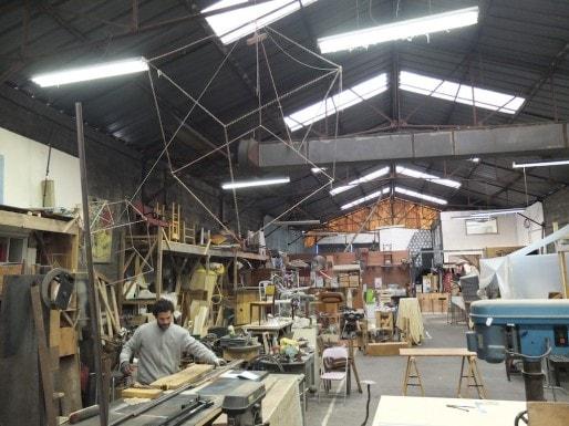 36 résidents travaillent à la Chiffone Rit (SB/Rue89 Bordeaux)