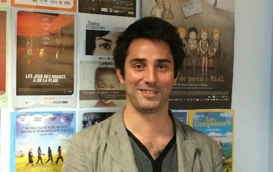 Antoine Sebire, le nouveau monsieur cinéma d'Ecla