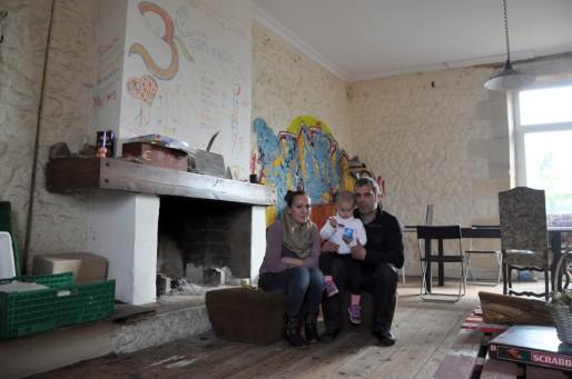 De gauche à droite, Nafia, Ajla et Jesim viennent de Tirana en Albanie (XR/Rue89 Bordeaux)