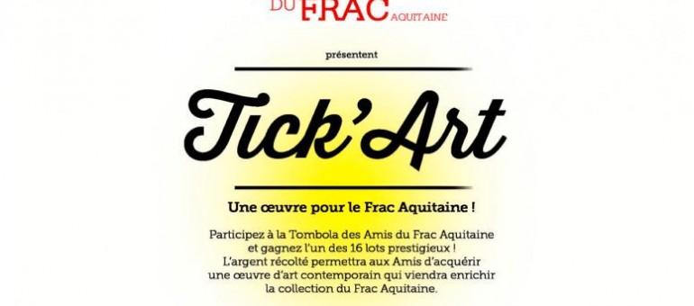 Frac Aquitaine : une tombola pour une œuvre