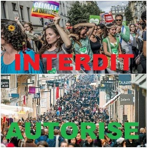 Visuel partagé sur Facebook par les partisans de la marche (DR)