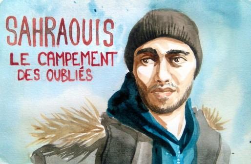 Web-documentaire Sahraouis, le campement des oubliés (Capture d'écran)