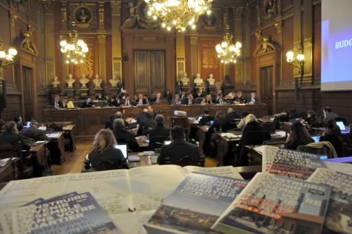 Le pacte de cohésion présente les projets des quartiers de Bordeaux jusqu'en 2020 (Xavier Ridon/Rue89 Bordeaux)