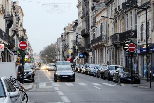 La ligne D remontera toute la rue Fondaudège (WS/Rue89 Bordeaux)