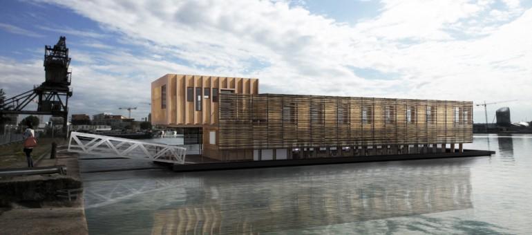 Des bureaux flottants sur les Bassins à flot