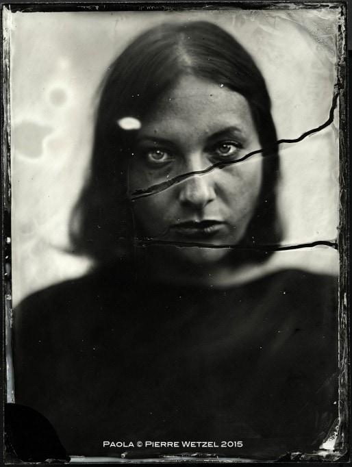 Portrait serré au Collodion humide