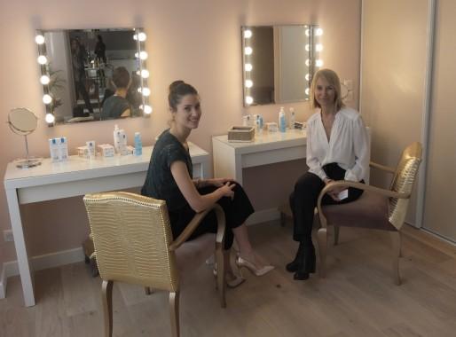 Jenna Boitard et Céline Dupré, les responsables de la Maison Rose à Bordeaux (SB/Rue89 Bordeaux)