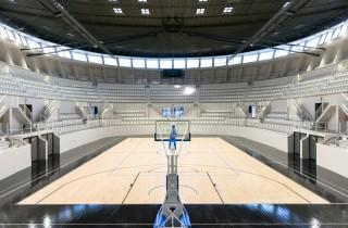 Le Palais des Sports (Architecte : Atelier Ferret Architectures / Photographe : Julien Fernandez.)