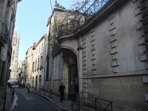 L'ancien hôtel des Archives Municipales, rue du Loup (SB/Rue89 Bordeaux)
