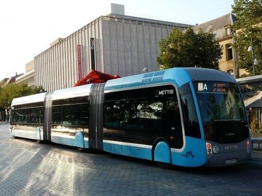 Un tram-bus à Metz (DR)