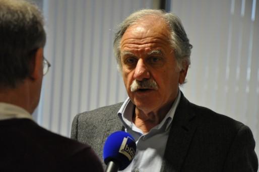 Noël Mamère a participé ce vendredi à son dernier conseil de Bordeaux Métropole (Xavier Ridon/Rue89 Bordeaux)