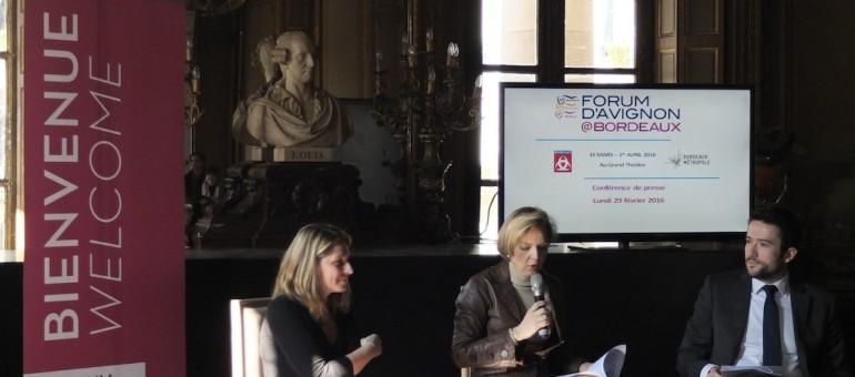 Davos de la culture, le Forum d'Avignon tient salon à Bordeaux