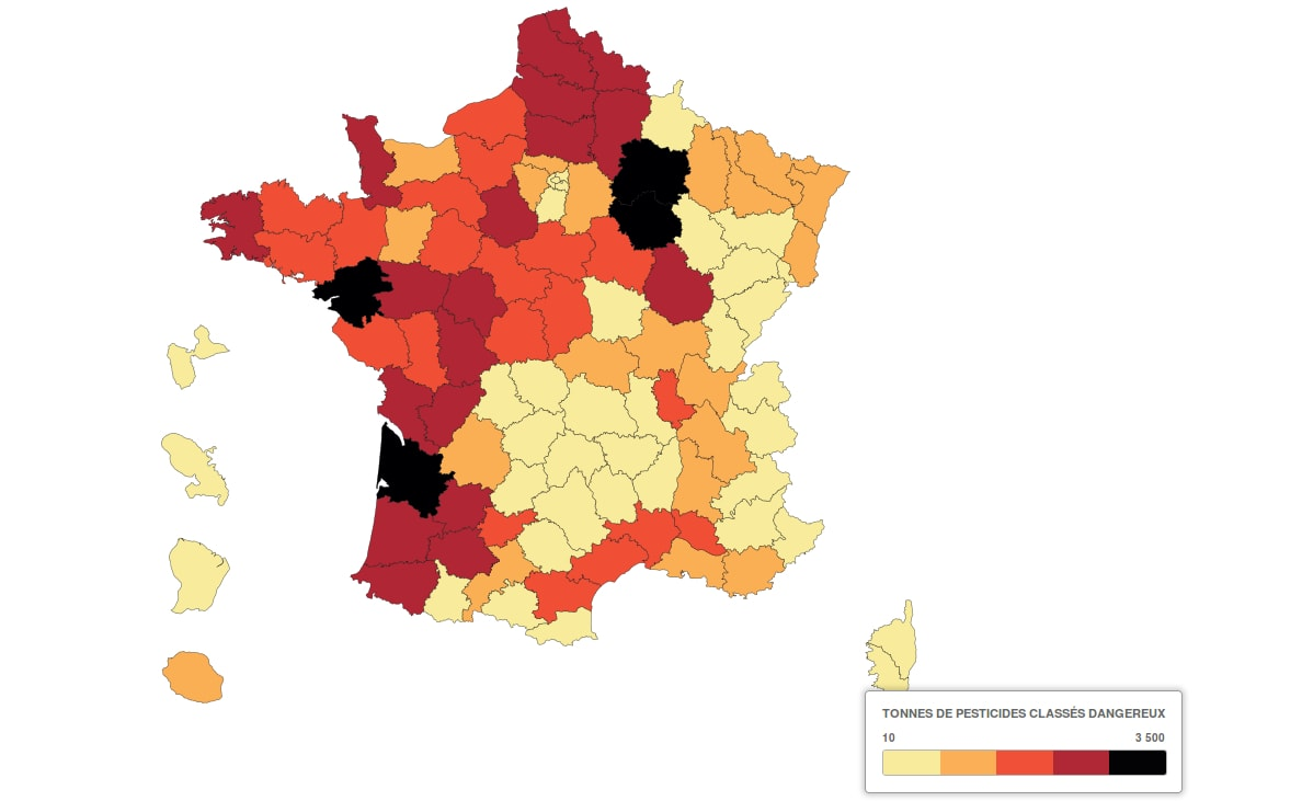 Carte Pollution Bordeaux.Pesticides En Gironde Les Vignerons Reagissent Cash Rue89 Bordeaux