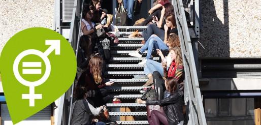 Visuel des journées des droits des femmes à l'Université Bordeaux Montaigne (DR)