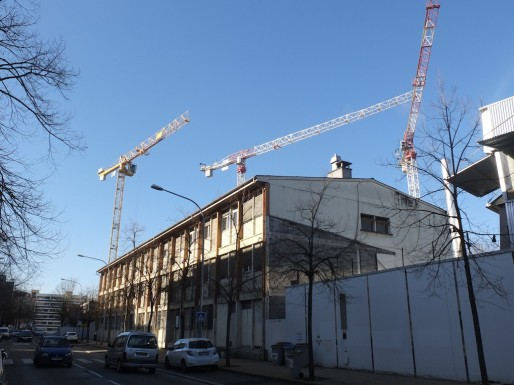 L'ancien collège Aliénor d'Aquitaine, rue Barbey, va être démoli (SB/Rue89 Bordeaux)