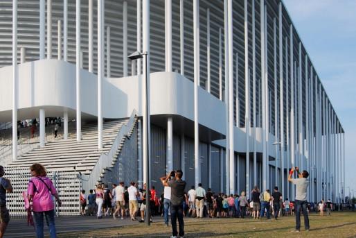 Pour utiliser le stade Matmut Atlantique pendant l'Euro, Bordeaux doit passer à la caisse (WS/Rue89 Bordeaux)