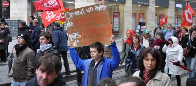 Avec 30000 manifestants, Bordeaux tempête contre la Loi Travail