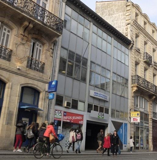 La BU pluridisciplinaire, cours Alsace-Lorraine (SB/Rue89 Bordeaux)