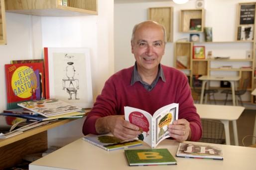Philippe Lesgourgues, le créateur des éditions L'Édune à Andernos (AC/Rue89 Bordeaux)