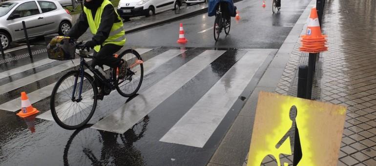 Le réseau express vélo, REV loin de la réalité à Bordeaux