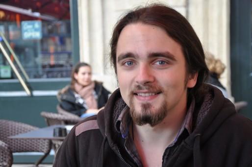 Vincent a lancé la page Facebook du mouvement du 9 mars à Bordeaux (Xavier Ridon/Rue89 Bordeaux)