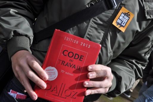 Parmi les 2000 pages, deux tiers ne comprennent que commentaires et dérogations. (XR/Rue89 Bordeaux)