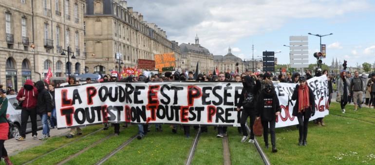 Loi travail : dissidence, violence et convergence à Bordeaux