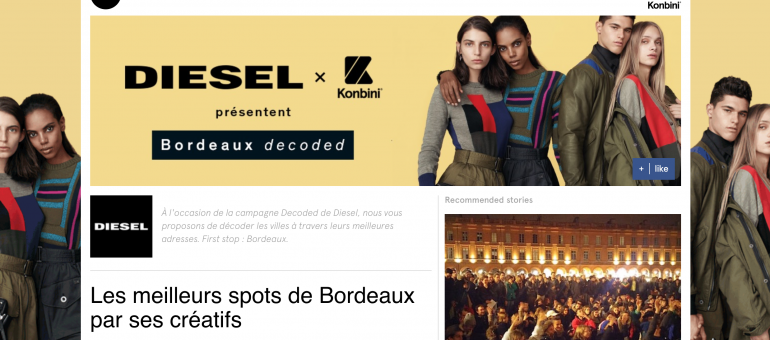 Konbini recense les meilleurs spots de Bordeaux