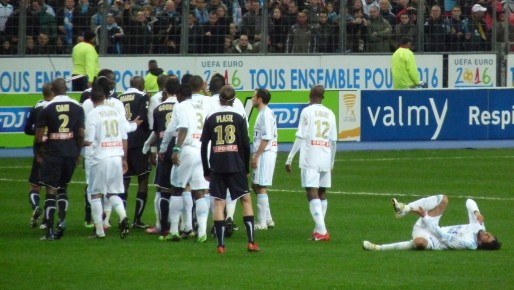 Finale de la coupe de la ligue OM-Bordeaux (3-1), en 2010 (Yann Caradec/flickr/CC)