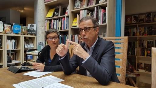 Les conseillers municipaux EELV Delphine Jamet et Pierre Hurmic (DR)