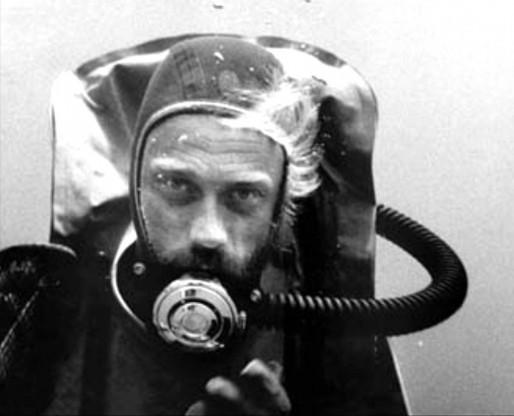 Passionné de plongée, François de Roubaix est disparu en 1975 (DR)