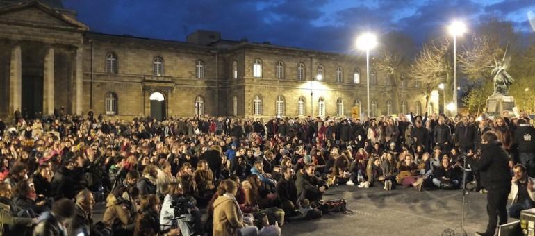 Nuit Debout Bordeaux attaque son marathon