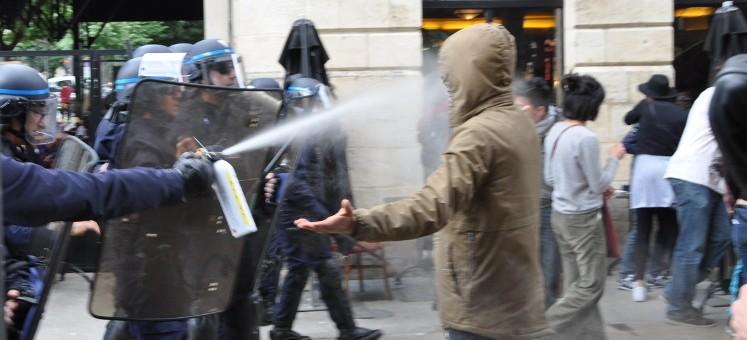 Manif loi Travail : maux, cris et lacrymos à Bordeaux