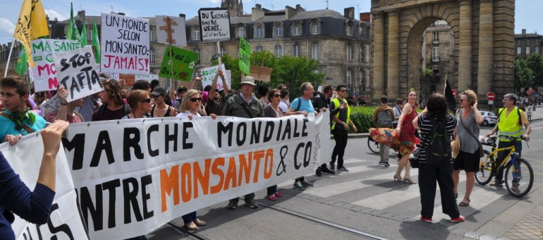 2000 Bordelais marchent contre Monsanto