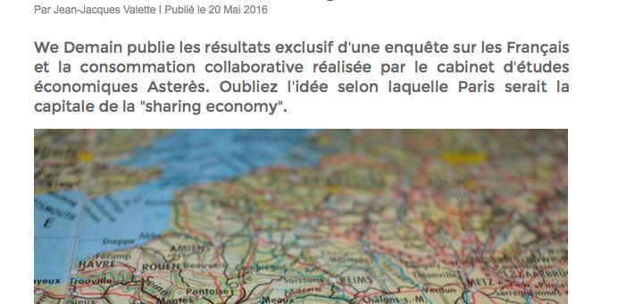 Bordeaux, championne de l'économie du partage