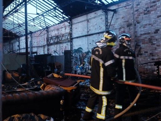 Le squat après l'intervention des pompiers (MO/Rue89 Bordeaux)