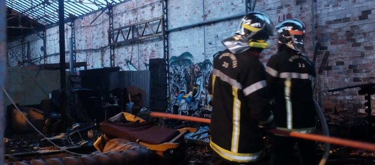 Incendie au squat bordelais des Sahraouis