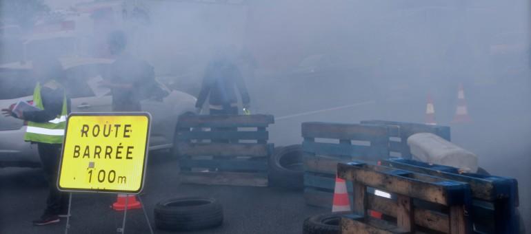 Les anti-loi travail ont bloqué la rocade