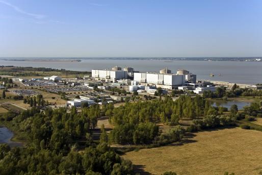 Site nucléaire du Blayais, vue aérienne. (DR/Marc Didier)