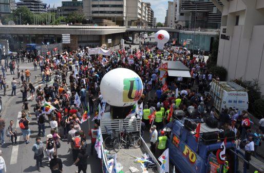 7000 personnes ont participé à la manifestation selon la CGT (Xavier Ridon/Rue89 Bordeaux)