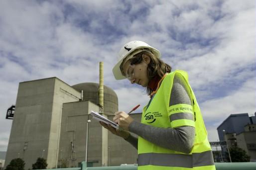 Inspection de l'Autorité de Sûreté Nucléaire à la centrale nucléaire de Saint-Alban. (ASN/N. Robin)