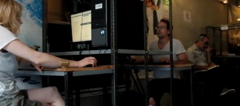 En direct-live de Rue89 Bordeaux, épisode 2 : la rédaction en plein travail